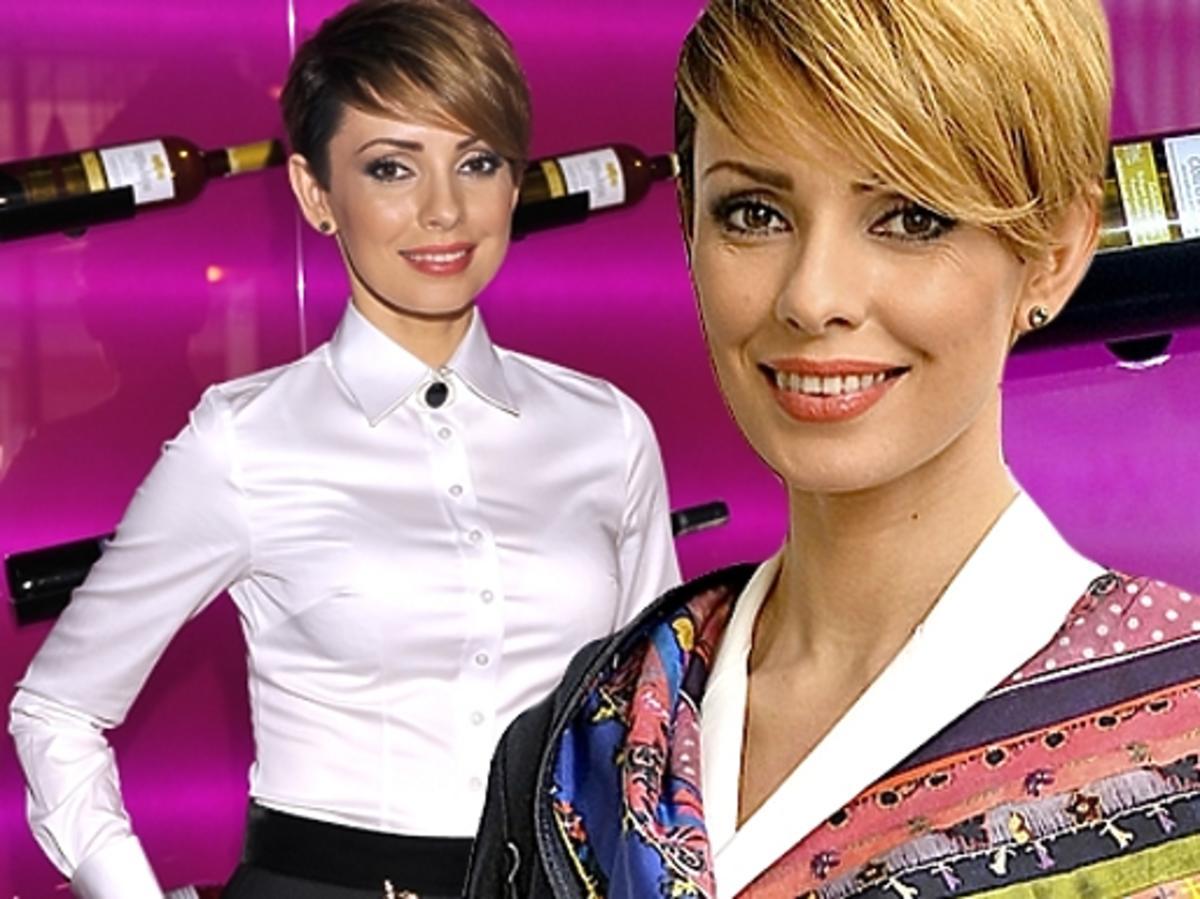 Dorota Gardias w blondzie