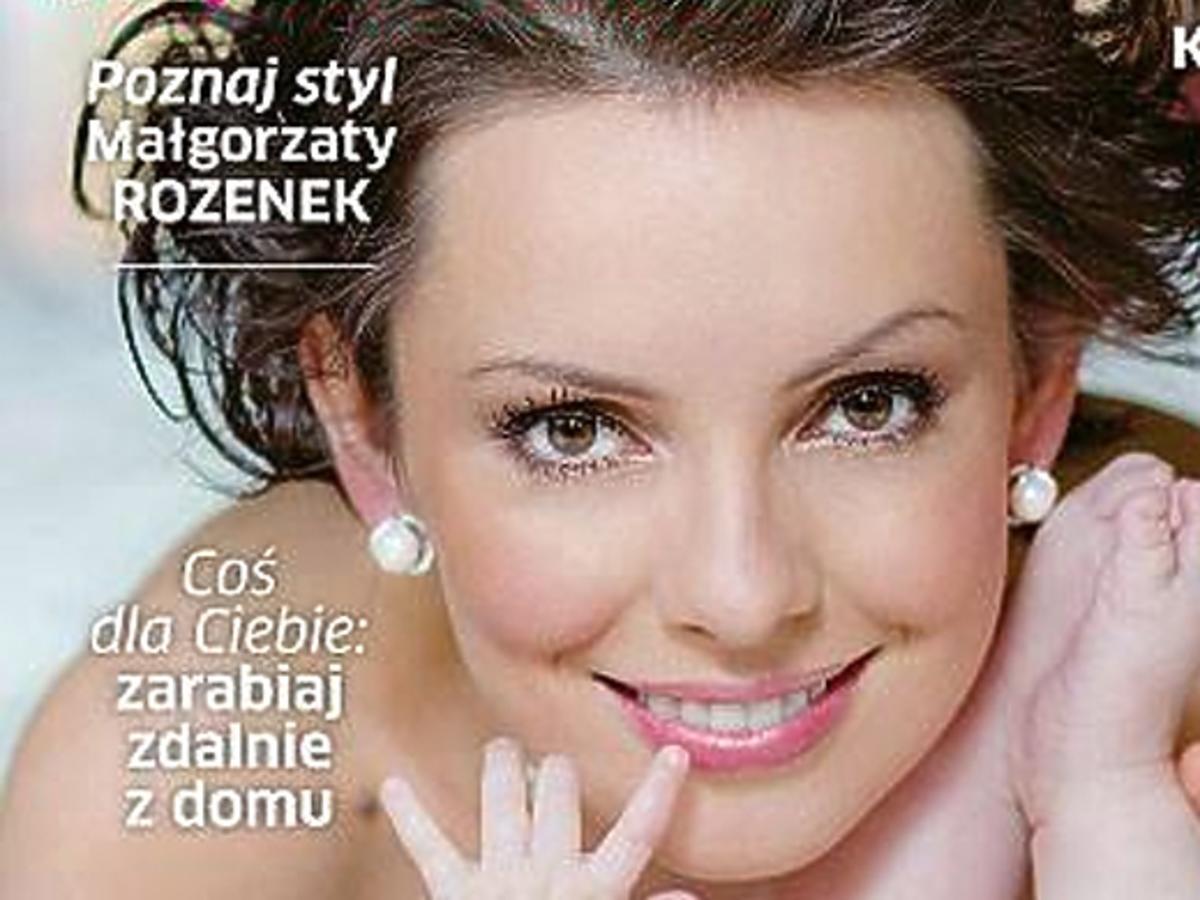 """Dorota Gardias z córką na okładce magazynu """"Aktywna Mama"""""""