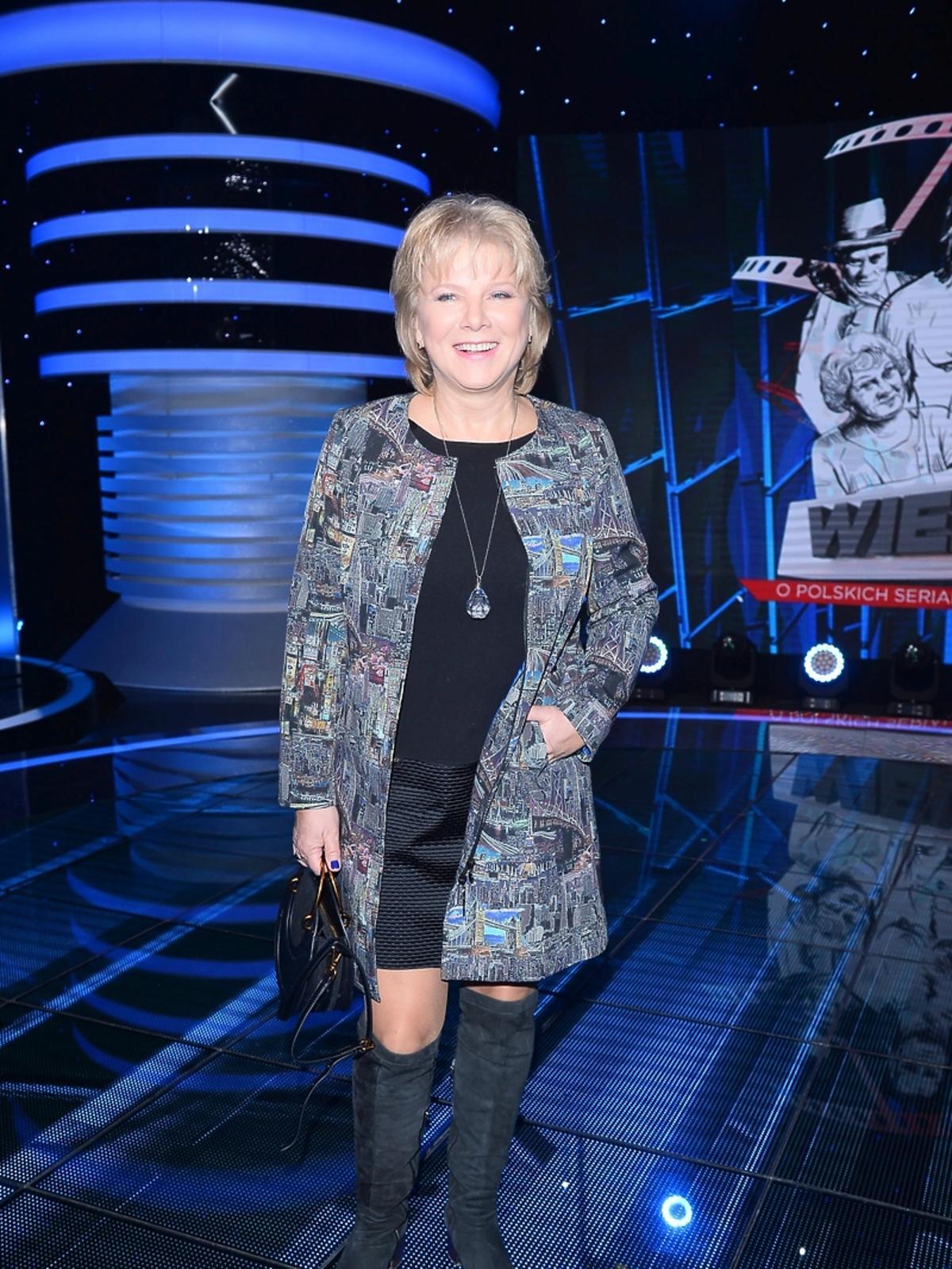 Dorota Kamińska na Wielkim Teście TVP o serialach