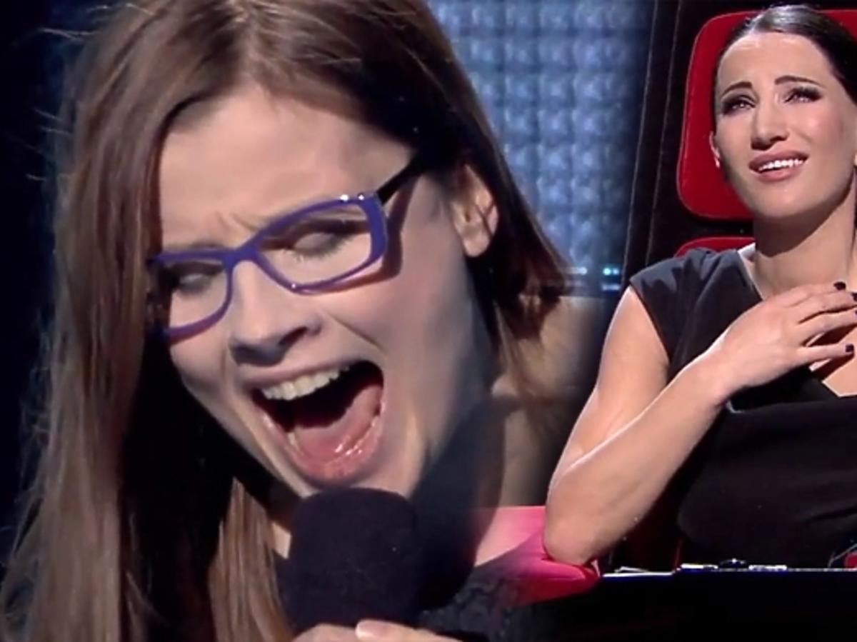 "Dorota Osińska w ""The Voice of Poland 2"""
