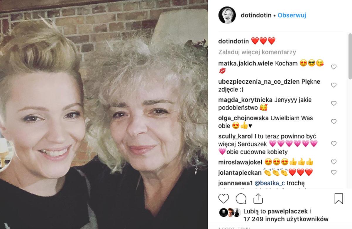 Dorota Szelągowska i Katarzyna Grochola razem na Instagramie
