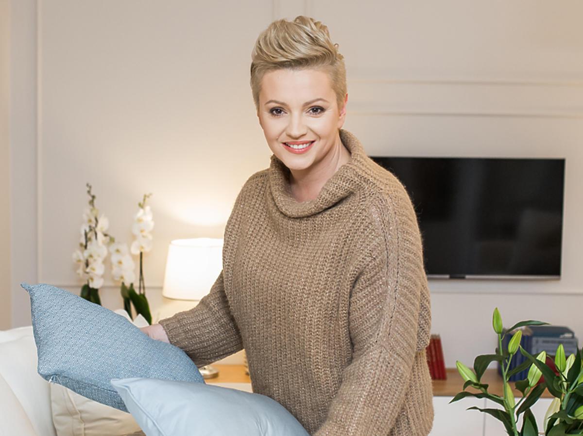 Dorota Szelągowska na planie programu Dorota Was urządzi