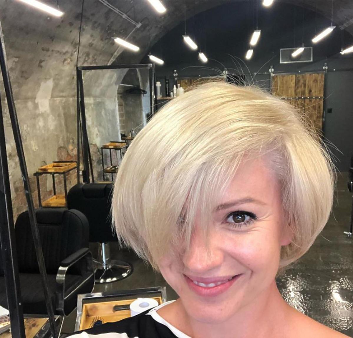 Dorota Szelągowska nowa fryzura