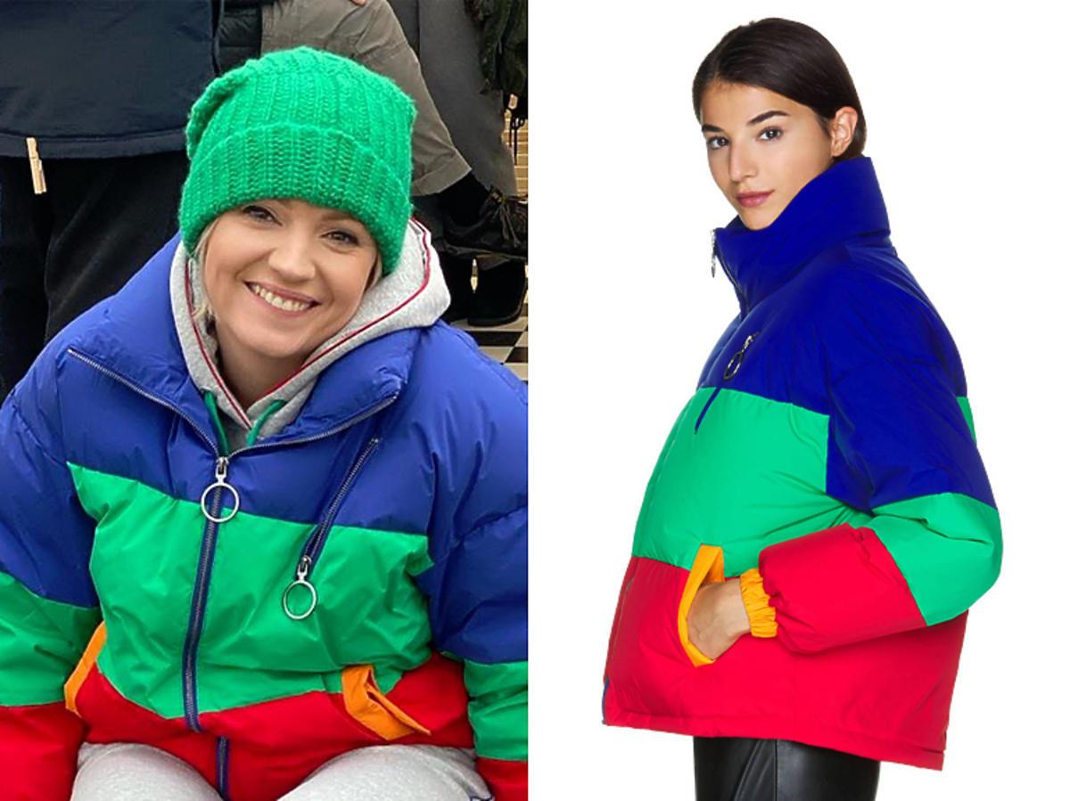 Dorota Szelągowska w kurtce United Colors of Benetton