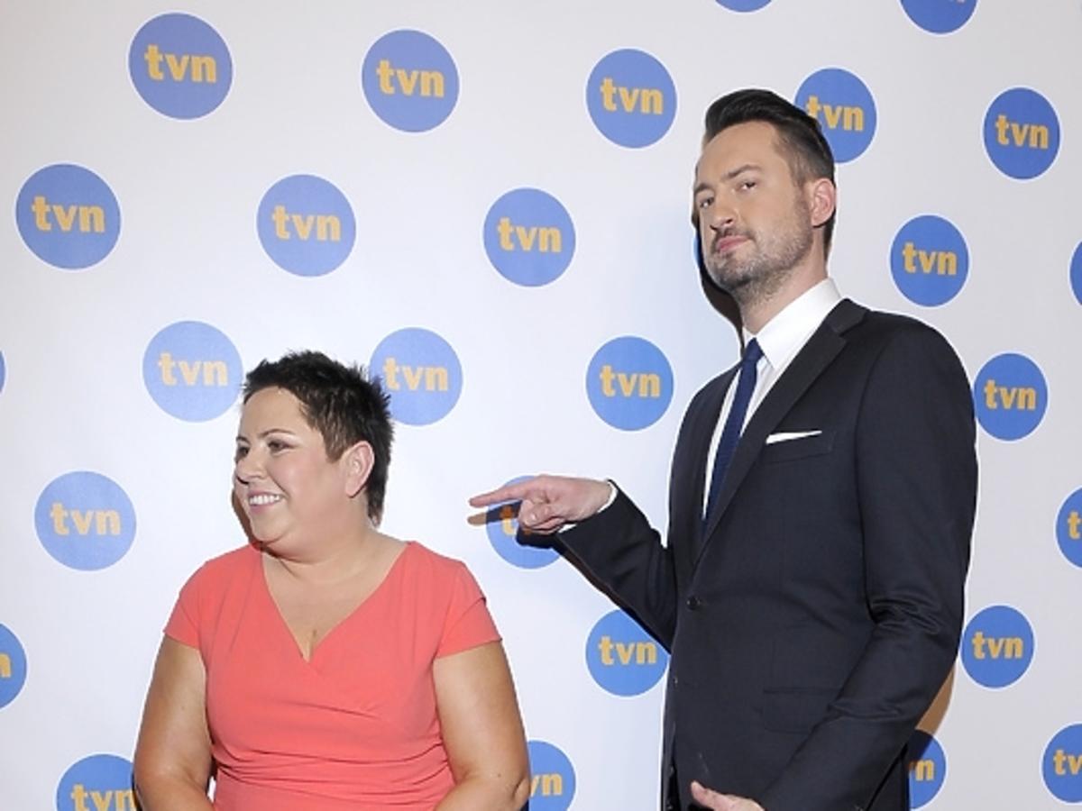 Dorota Wellman i Marcin prokop na wiosennej ramówce TVN