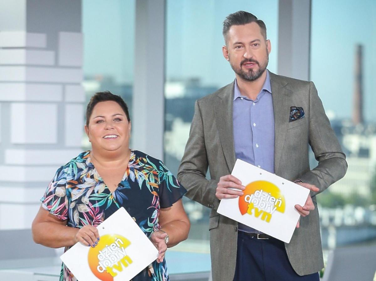 Dorota Wellman i Marcin Prokop w DDTVN