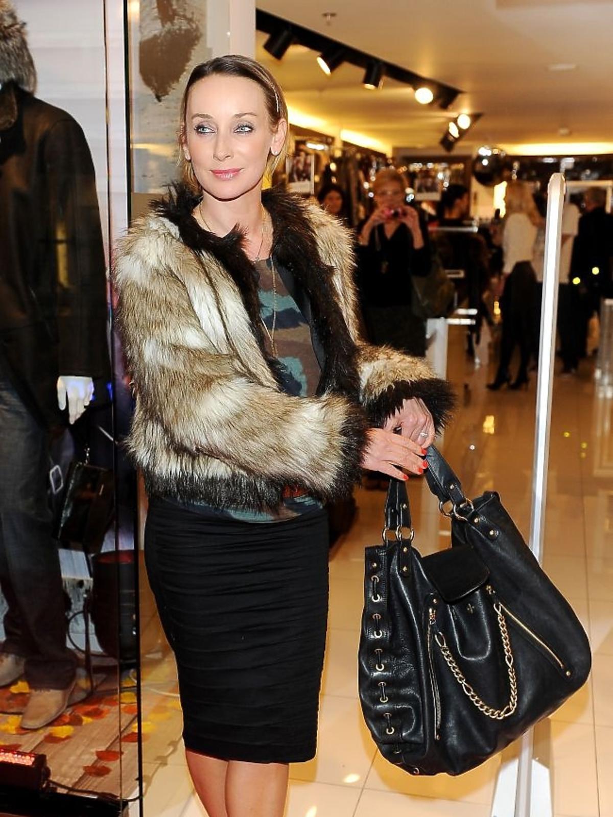 Dorota Williams na jesiennych zakupach w salonie Ochnik