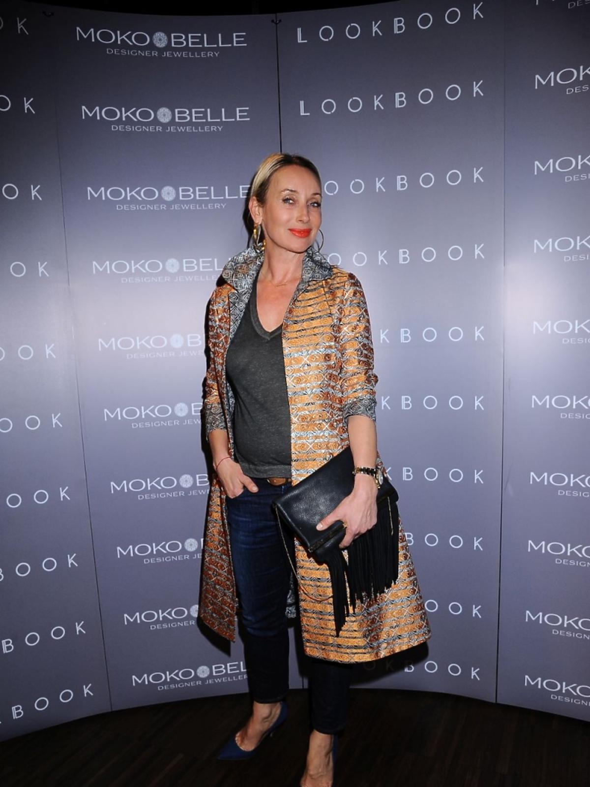 Dorota Williams na otwarciu butiku Mokobelle i LookBook