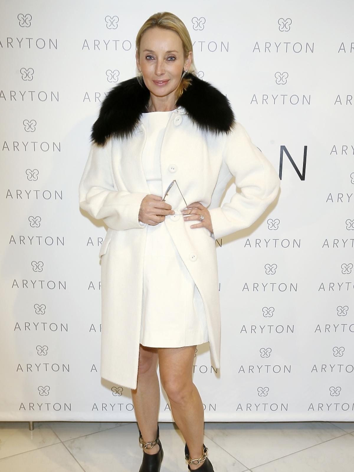 Dorota Williams na pokazie nowej kolekcji marki Aryton