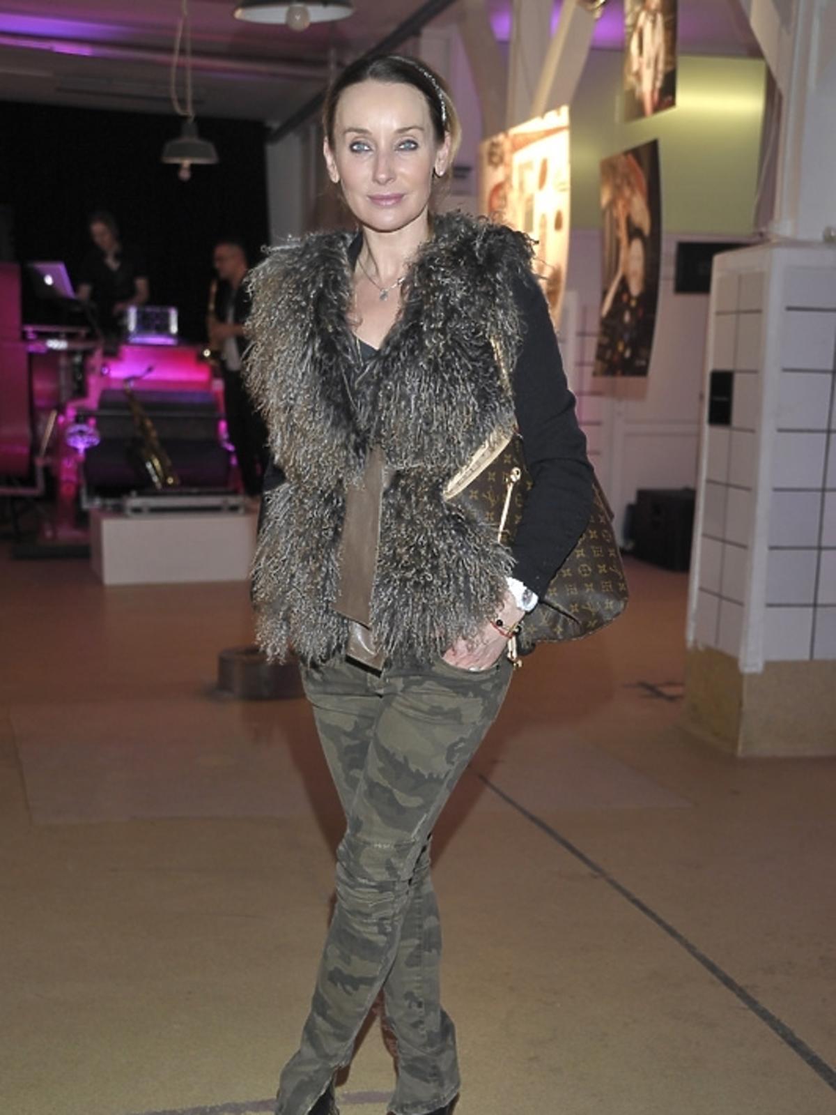 Dorota Williams na premierze albumu