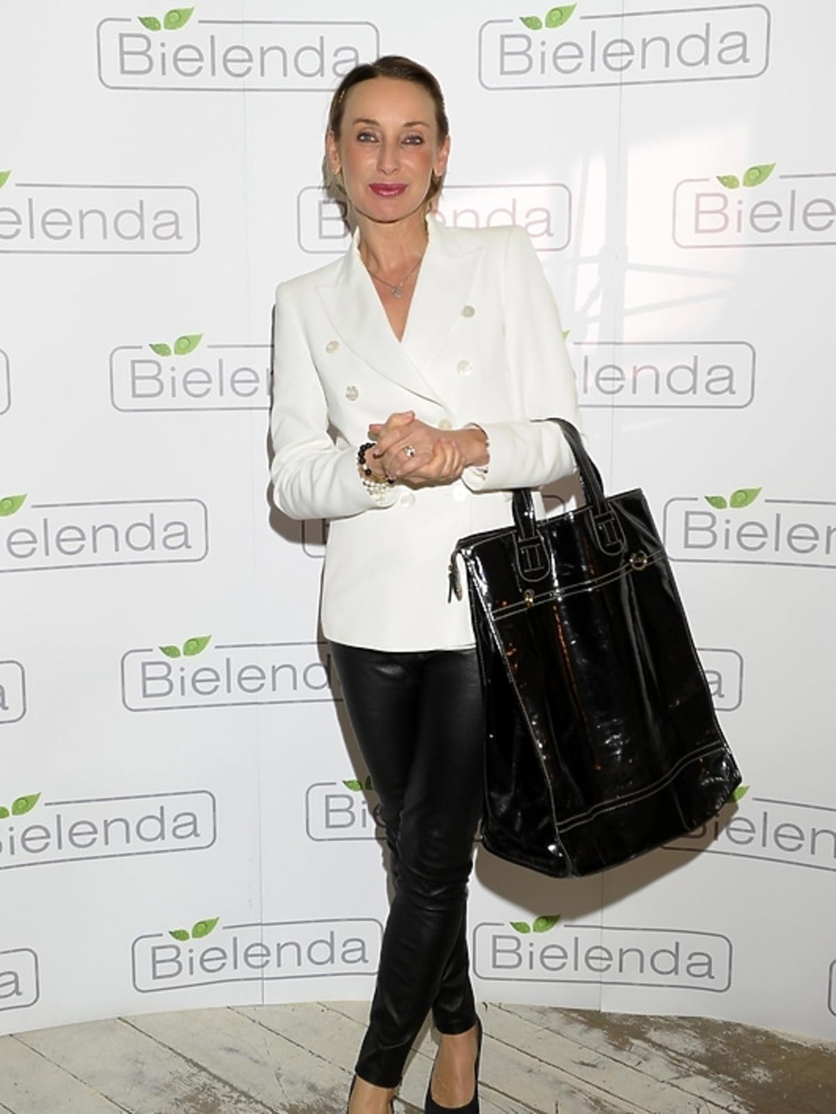 Dorota Williams na prezentacji kosmetyków marki Bielenda