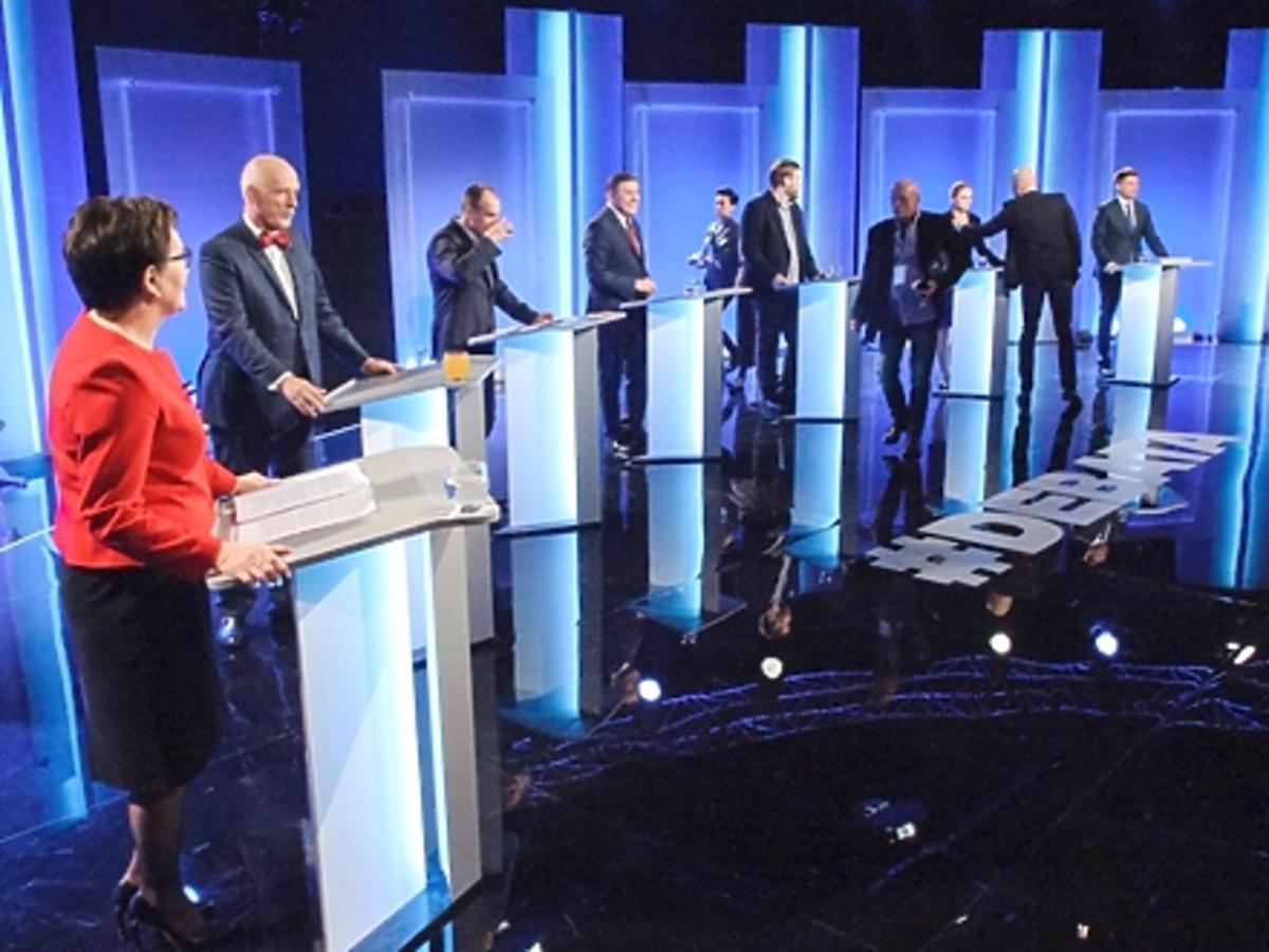 Dorota Wróblewska komentuje styl uczestnikach debaty