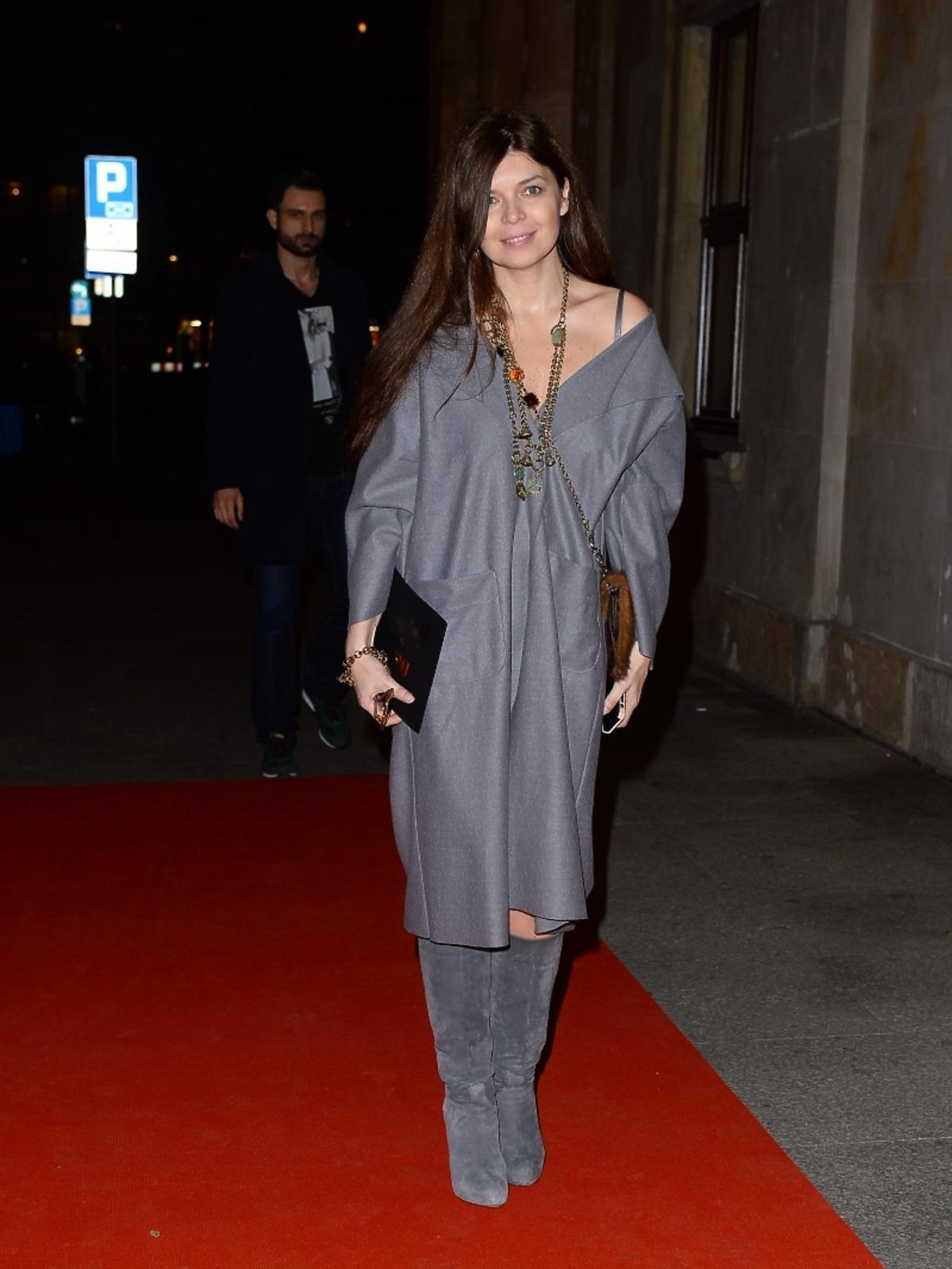 Dorota Wróblewska na imprezie Flesz Fashion Night