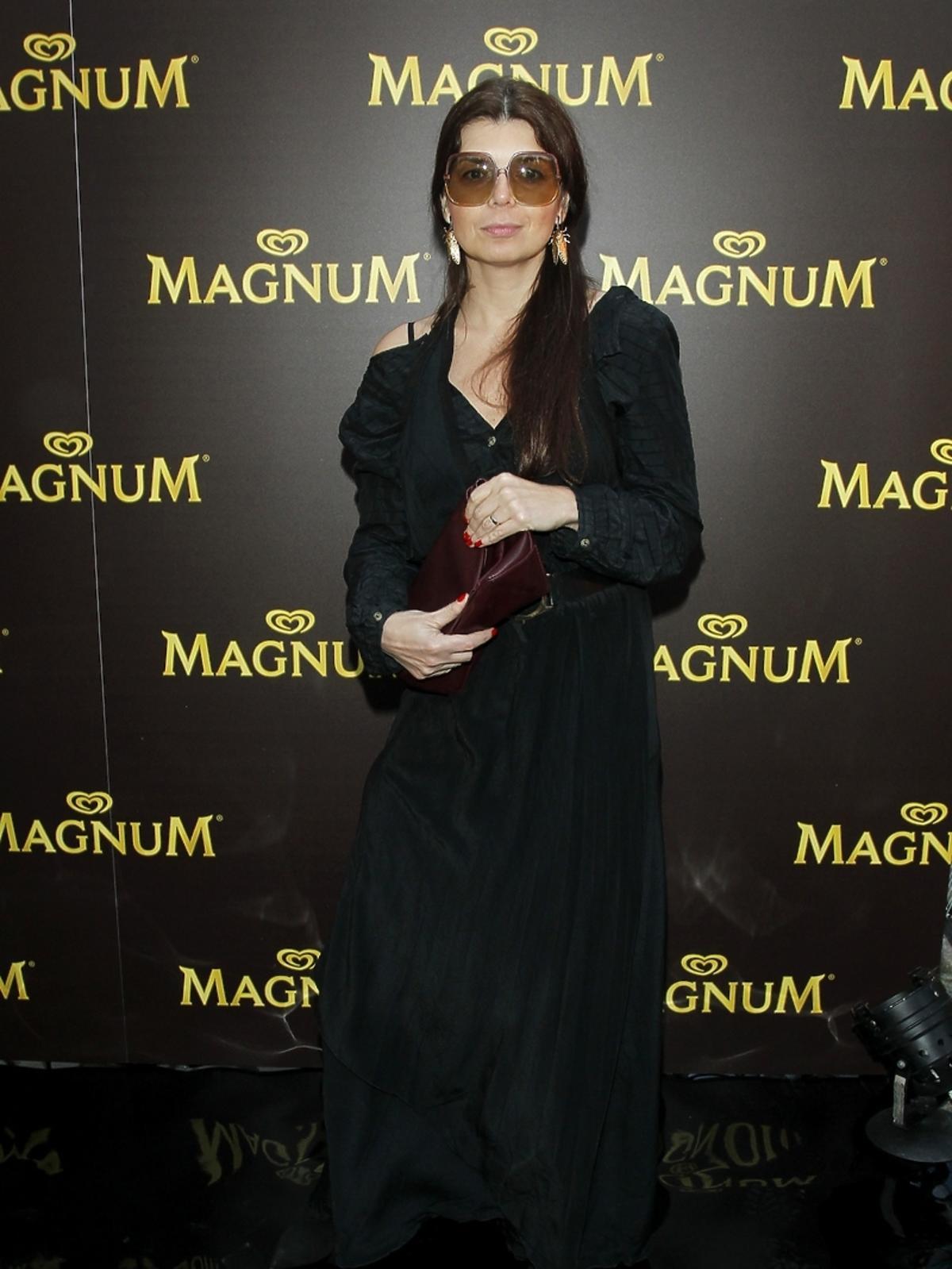 Dorota Wróblewska na urodzinach lodów Magnum