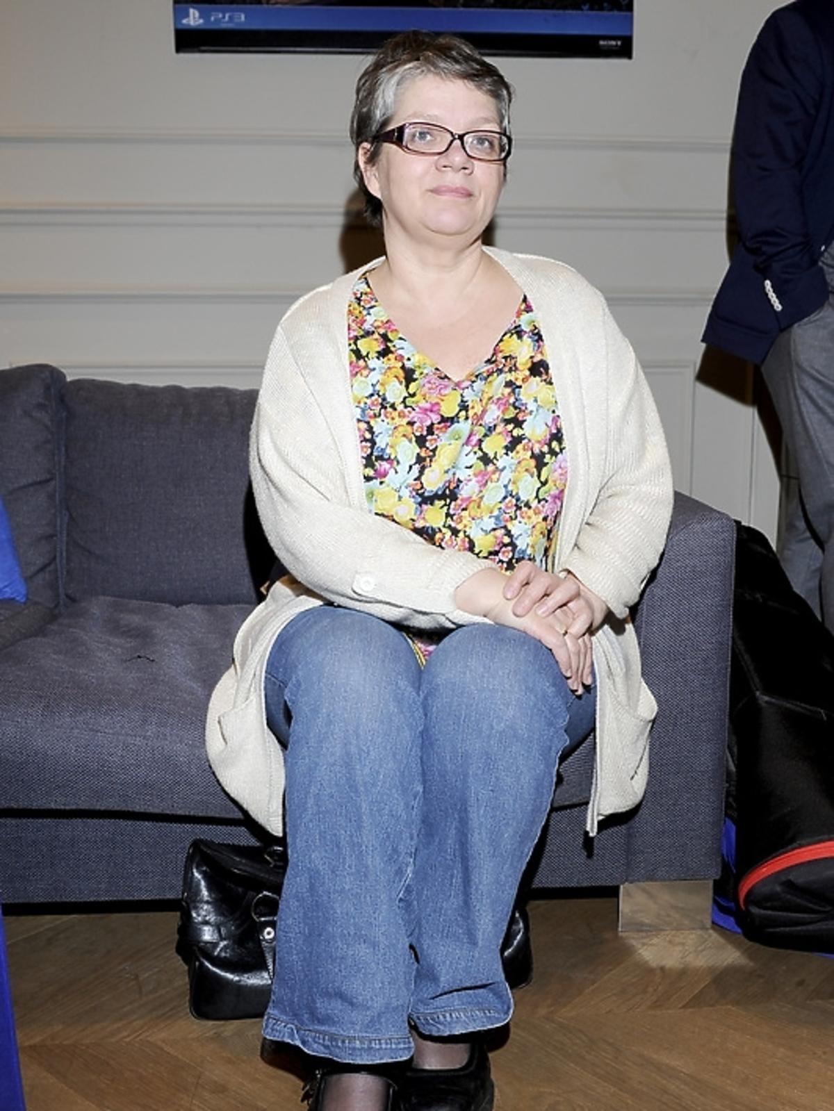 Dorota Zawadzka na premierze PlayStation 3 - Wonderbook: Księga Czarów