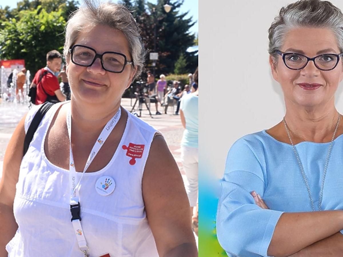 Dorota Zawadzka w okularach
