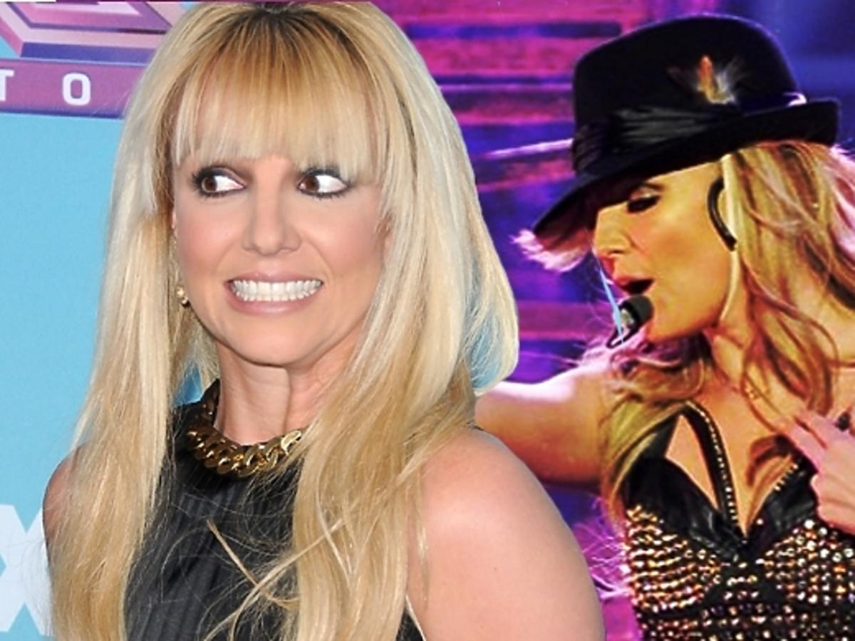 Dorysowane mięśnie Britney Spears