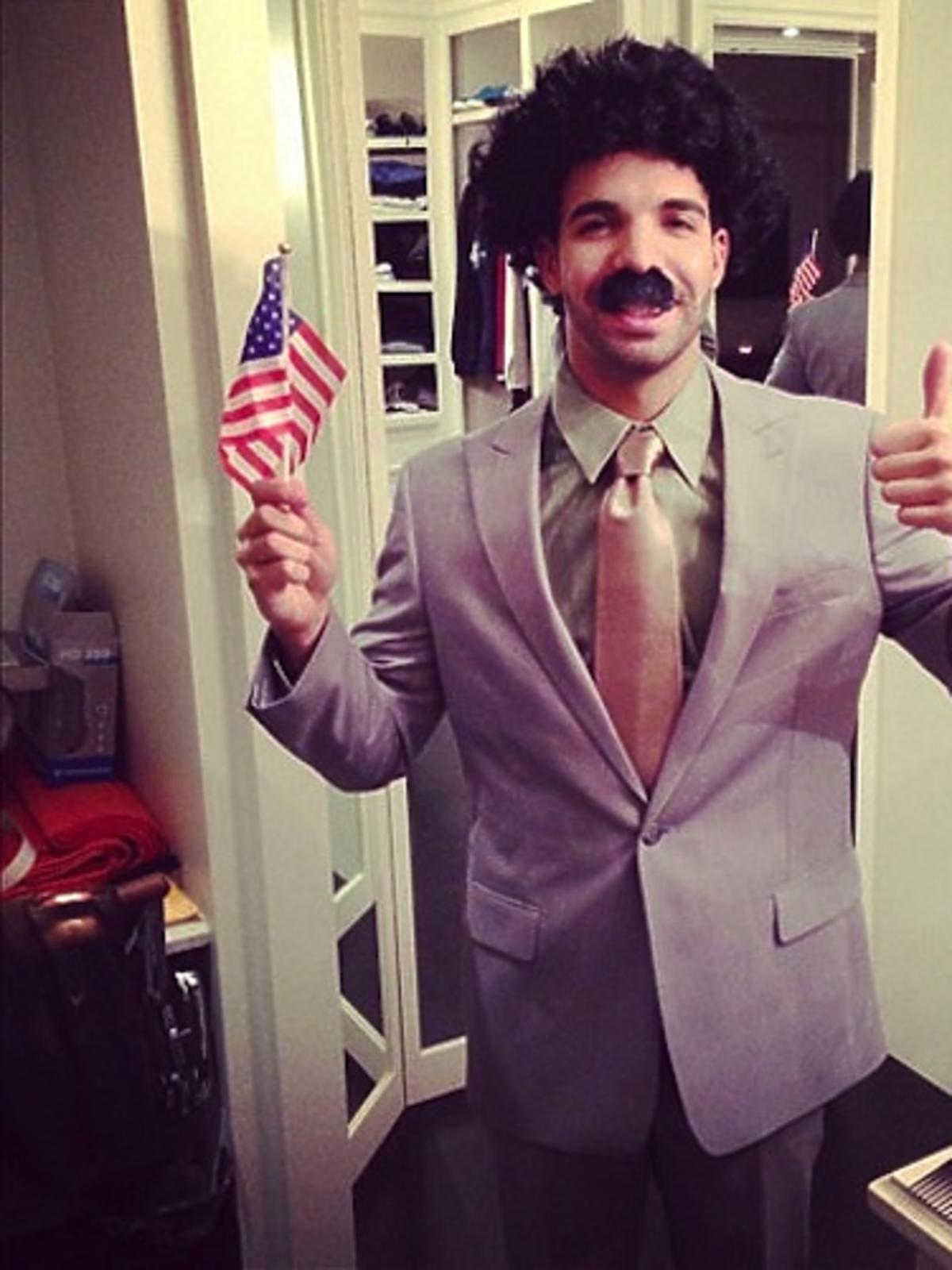 Drake na Halloween przebrał się za Borata