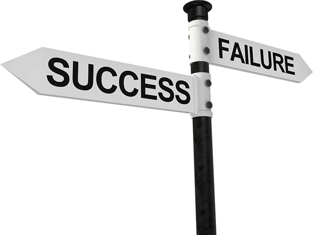 Drogowskaz do sukcesu i porażki