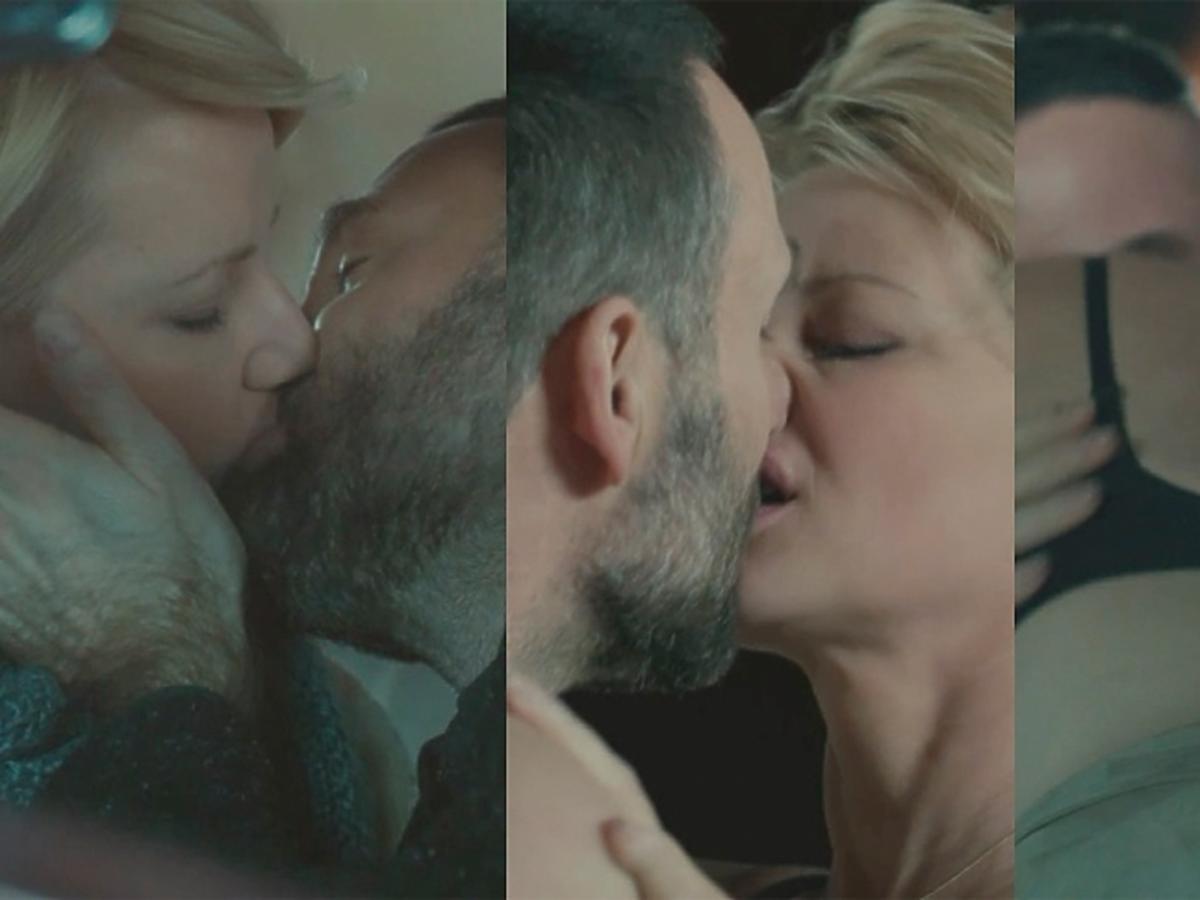 Druga szansa scenu pocałunku Kożuchowskiej i Świderskiego