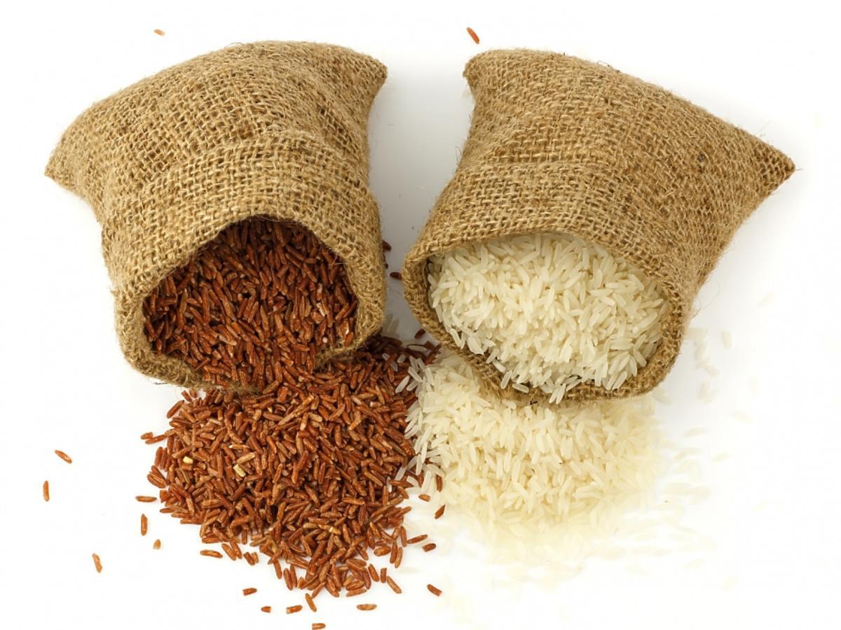 dwa rodzaje ryżu