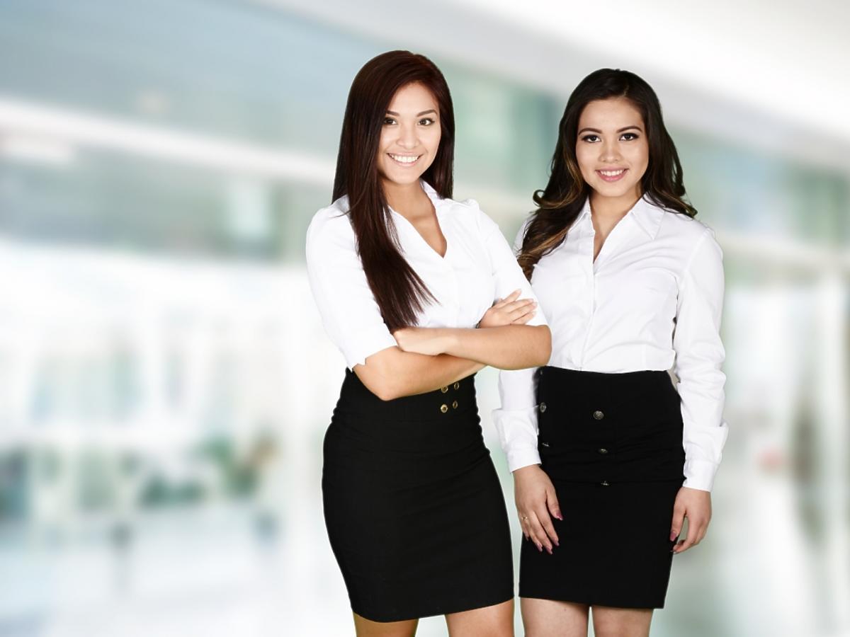 dwie kobiety biznesu