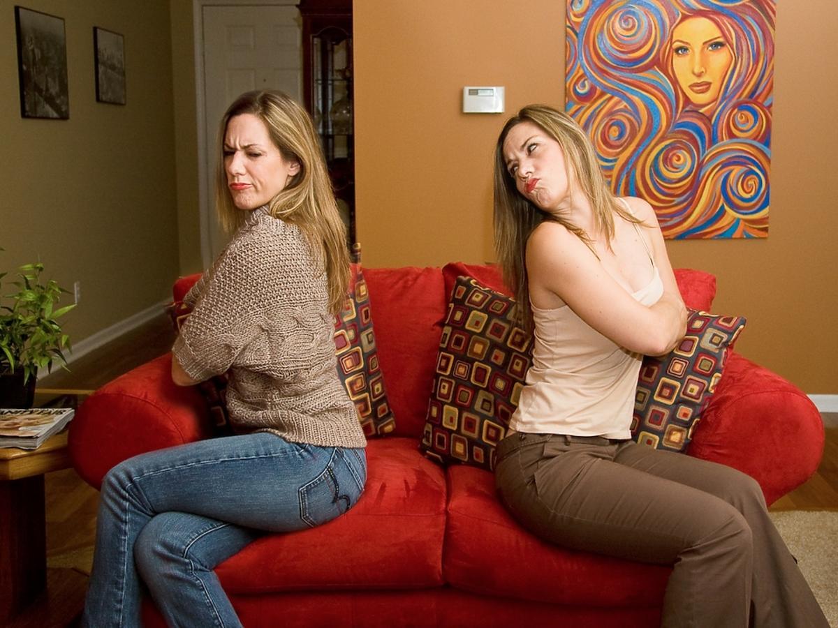 dwie nafochane kobiety