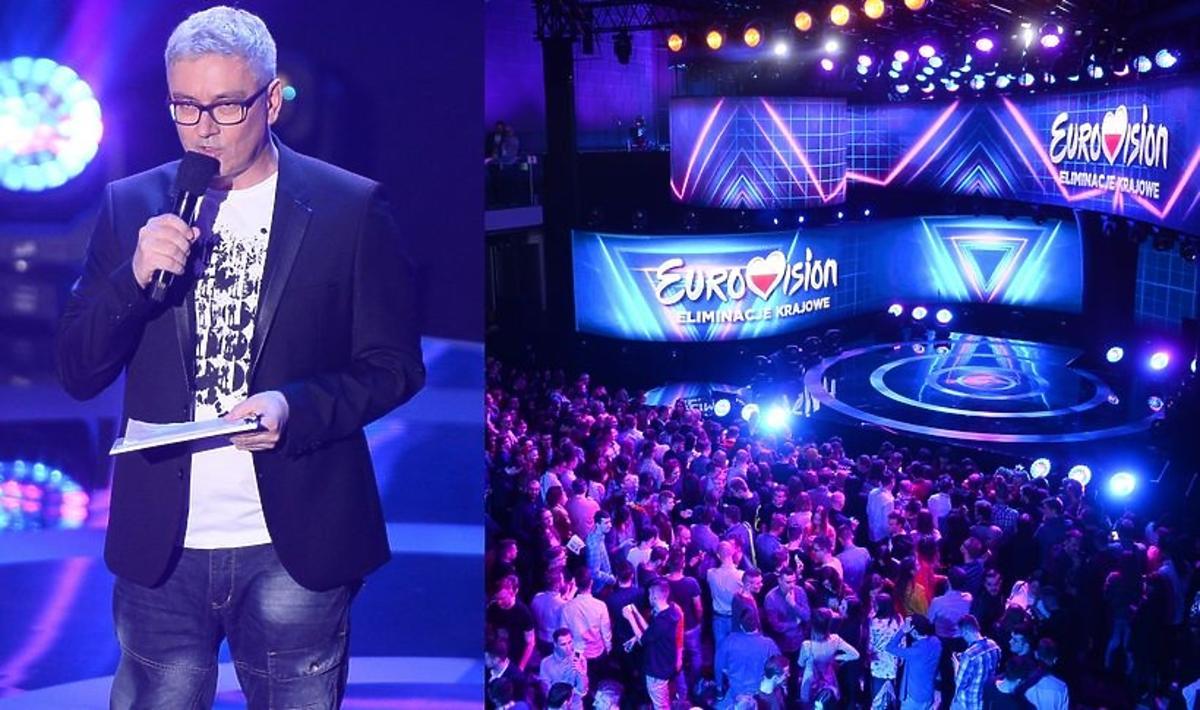 Dwie osoby spadły ze sceny podczas finału polskich preselekcji
