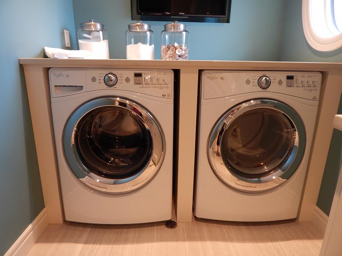 dwie pralki