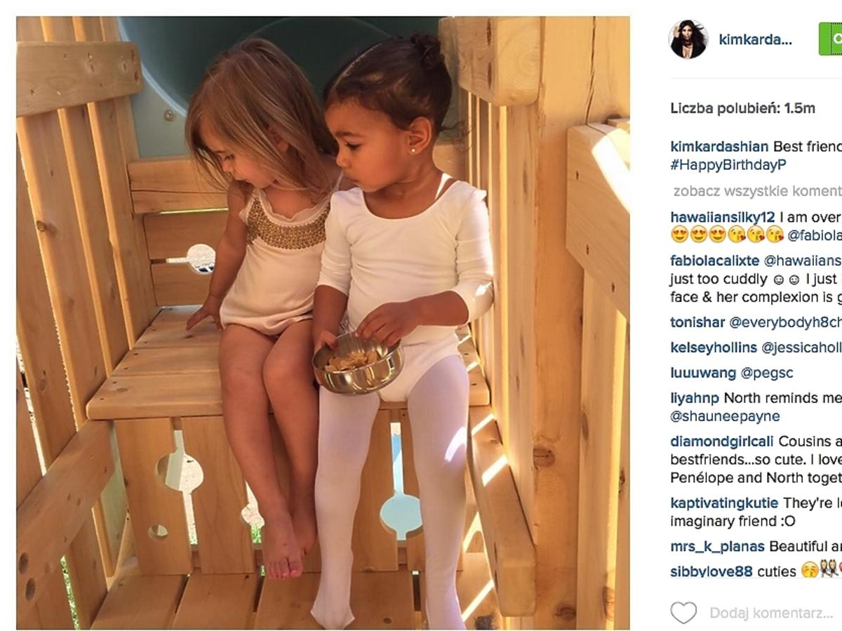 Penelope Disick i North West