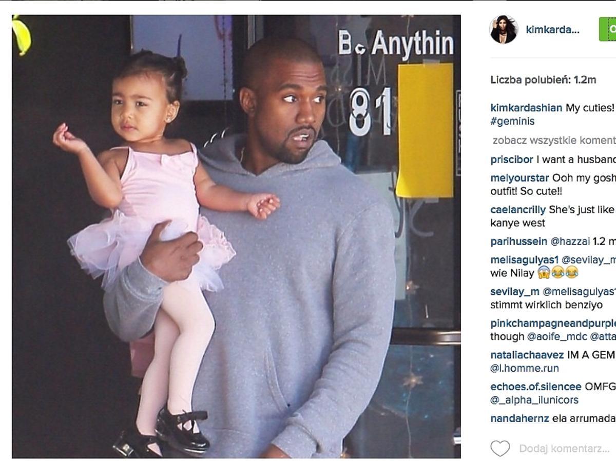 North West i jej tata, Kanye West