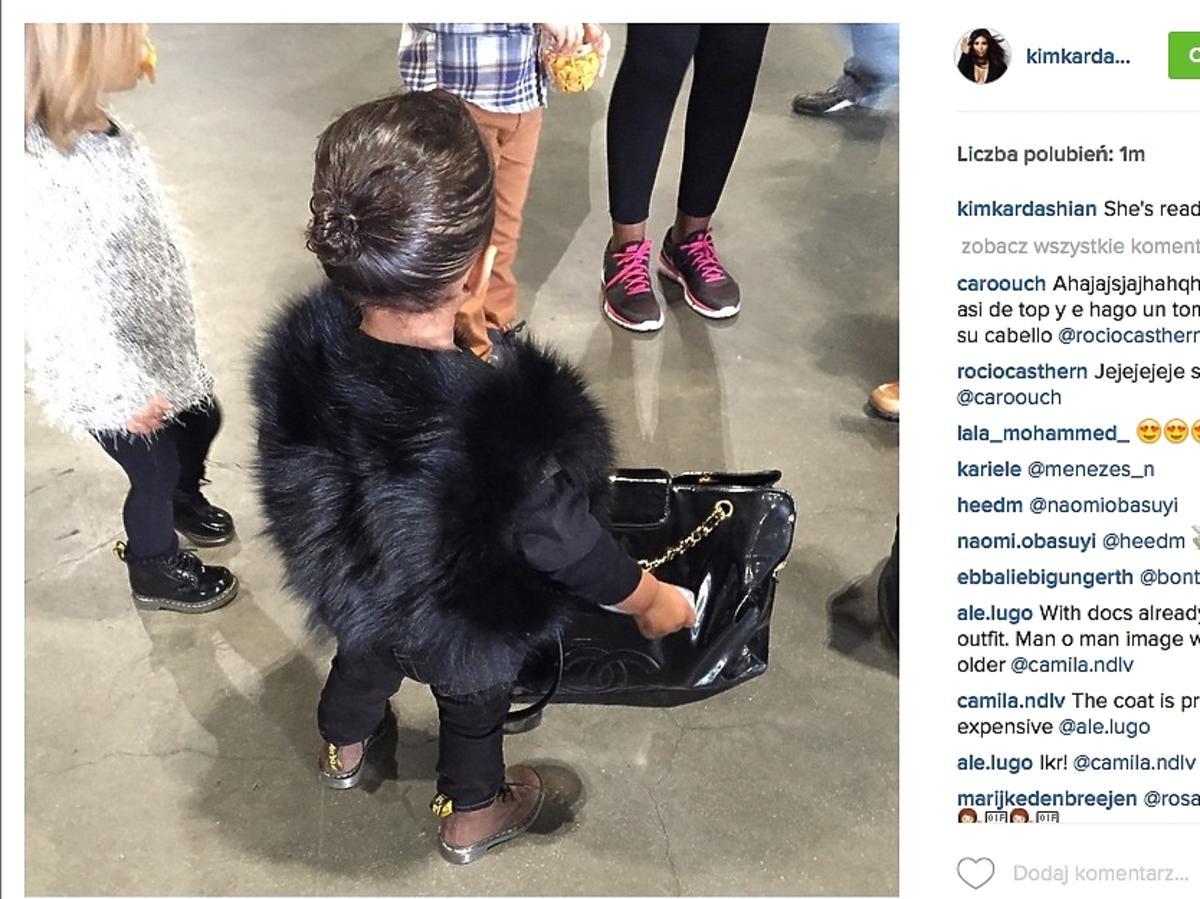 North West, córka Kim Kardashian