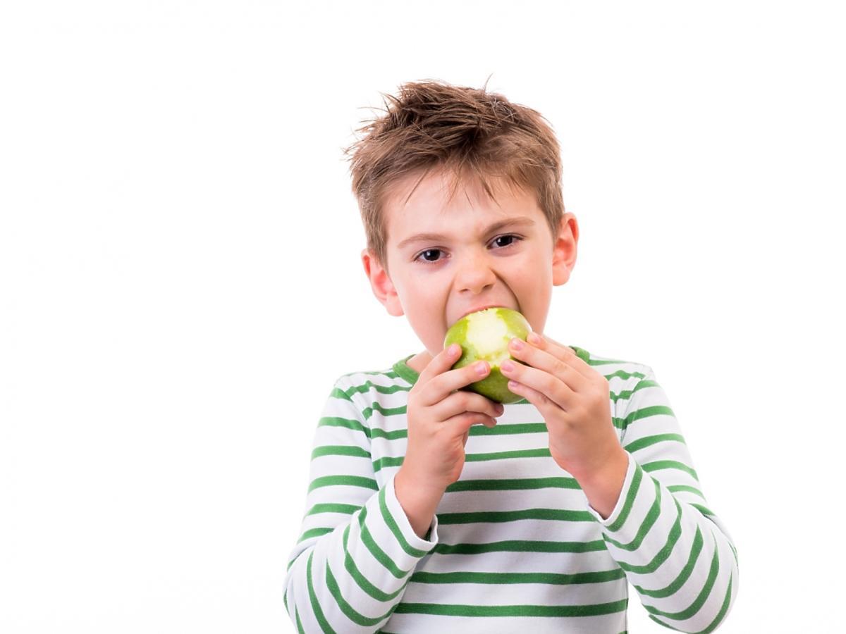 Dziecko je jabłko