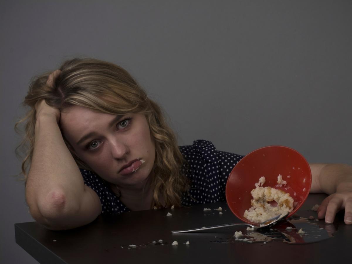 Dziewczyna i jedzenie