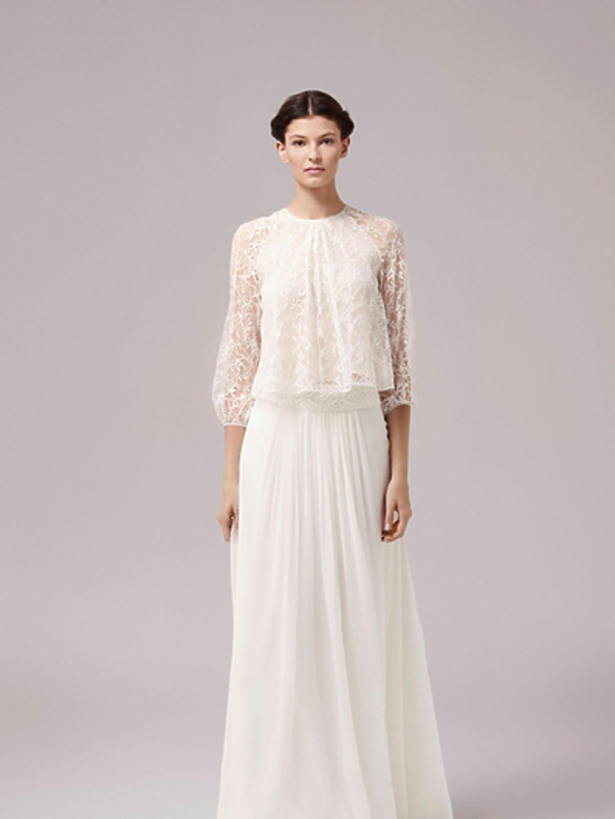 Dziewczyna w białej sukni