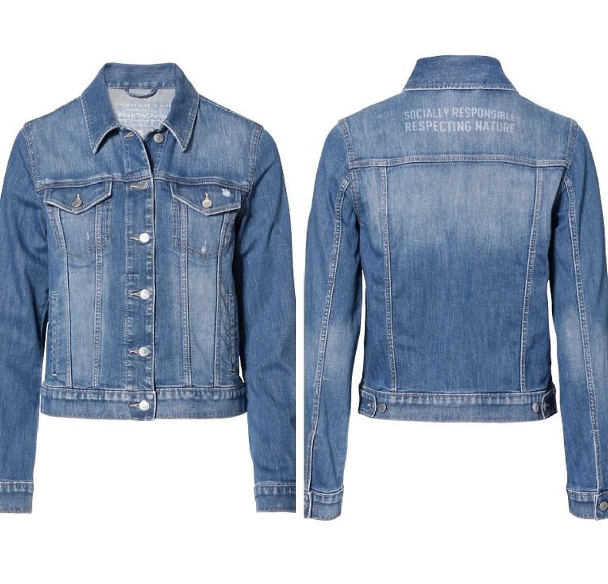 Dżinsowa kurtka C&A-zrównoważona kolekcja