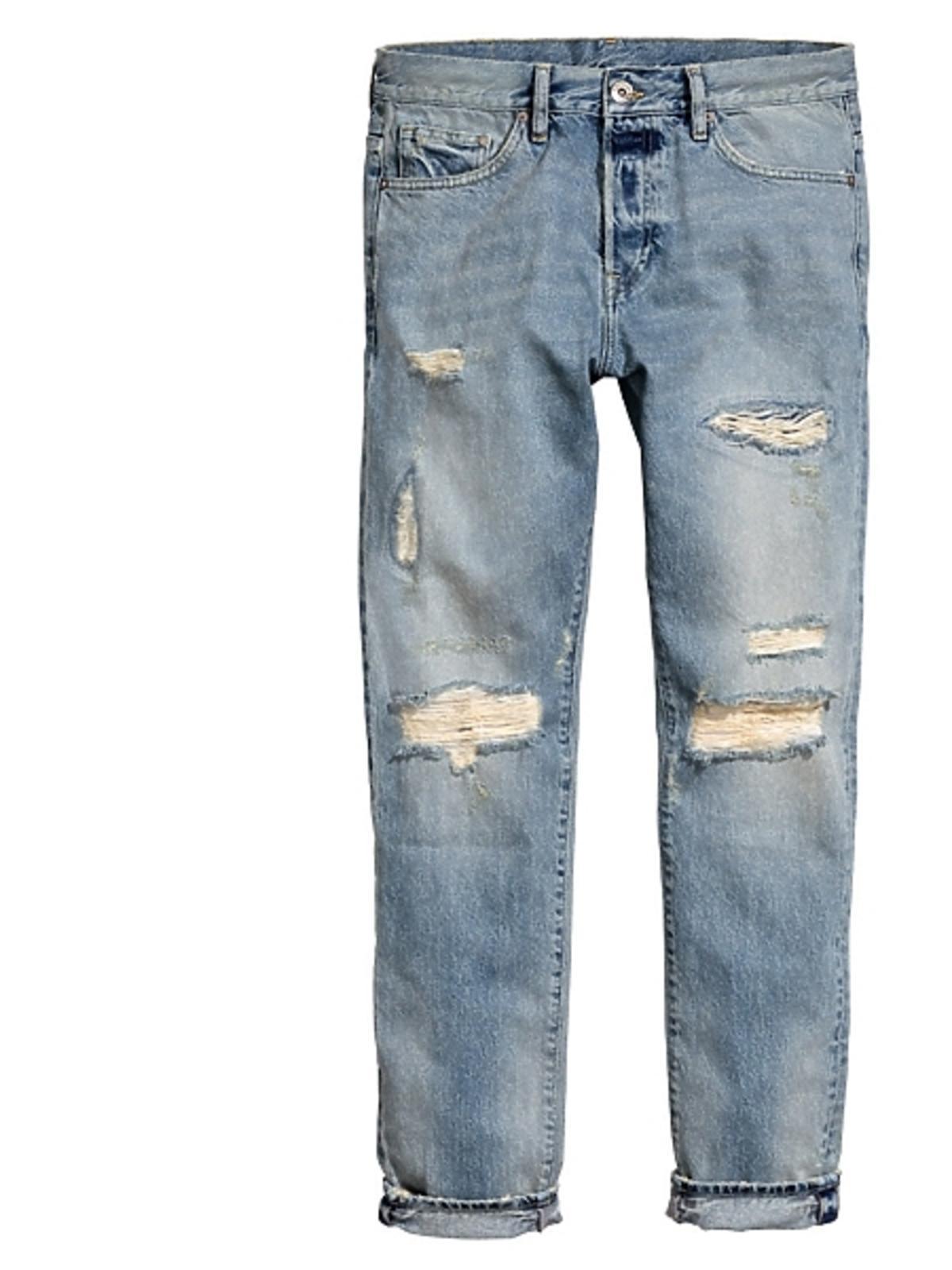 Dżinsowe spodnie H&M, cena