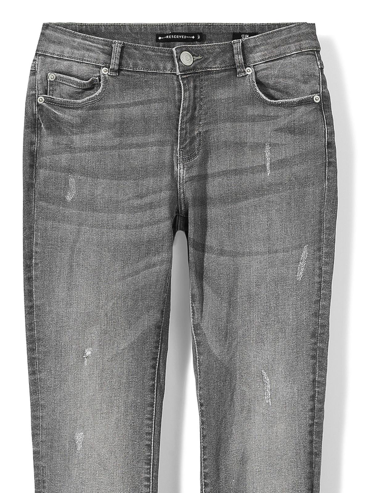 Dżinsy z postrzępionymi nogawkami - Reserved, 119 zł