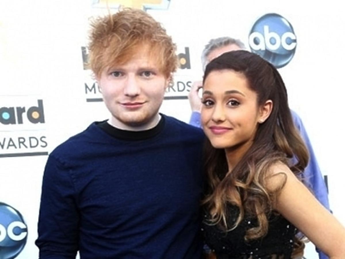 Ed Sheeran i Ariana Grande na MTV EMA 2014