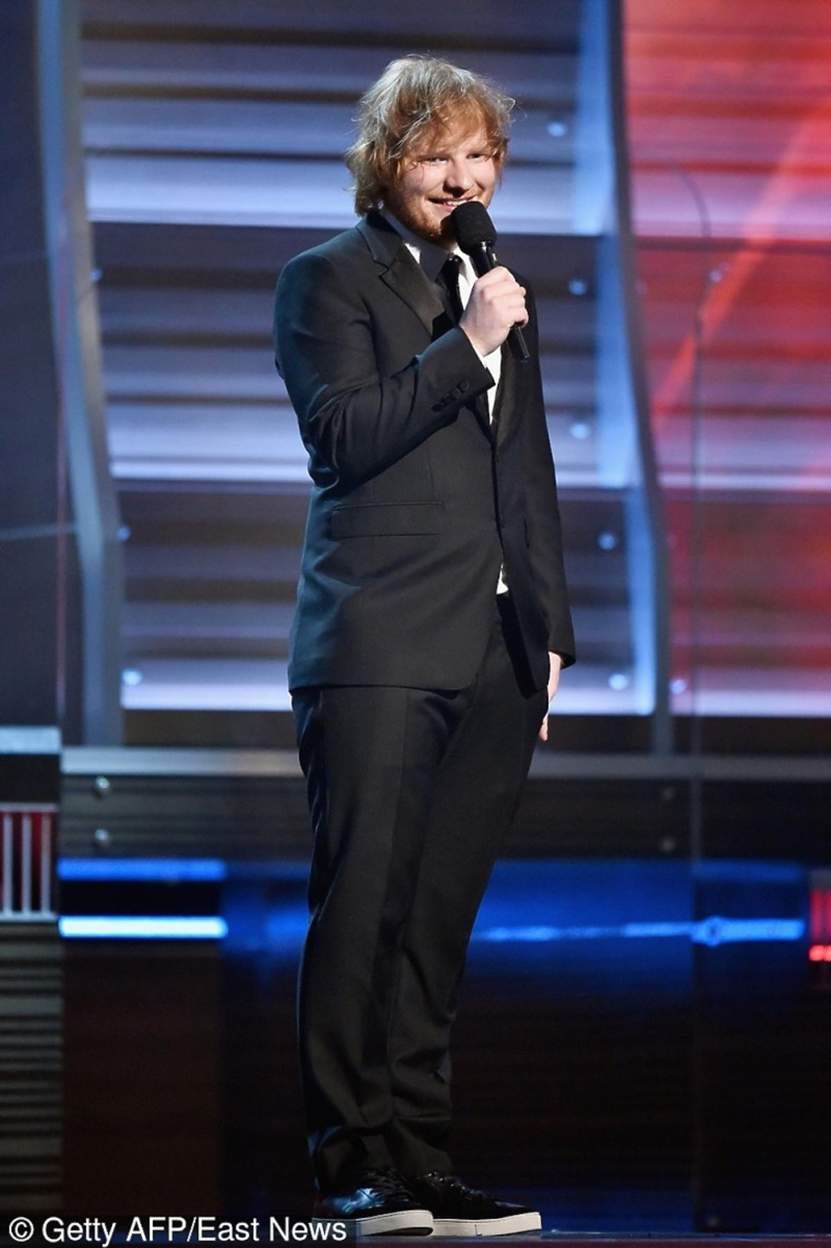 Ed Sheeran na gali Grammy 2016