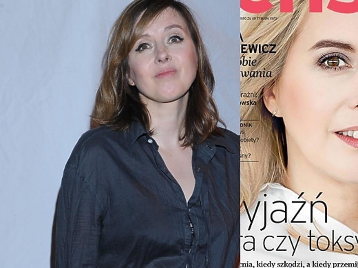 Edyta Bartosiewicz na okładce magazynu Sens