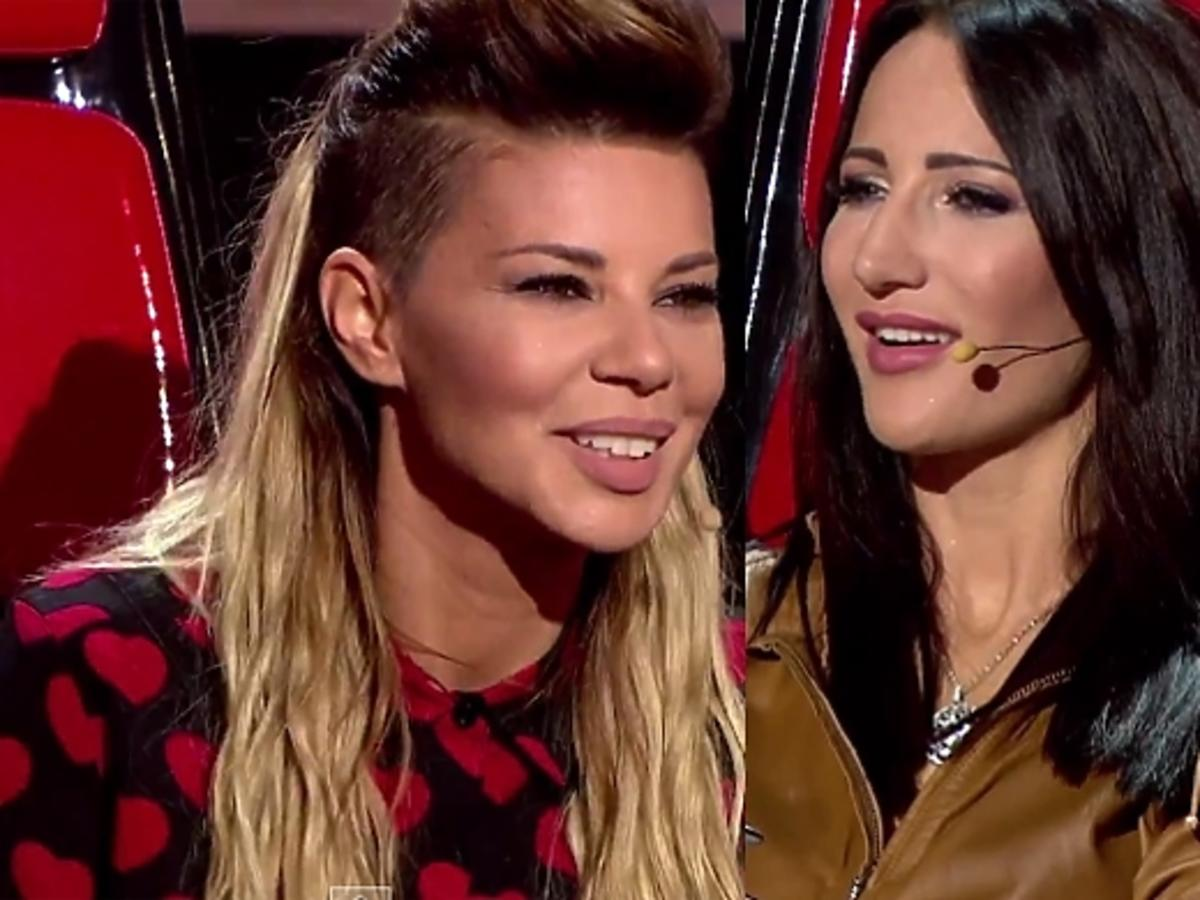 Edyta Górniak i Justyna Steczkowska w The Voice of Poland