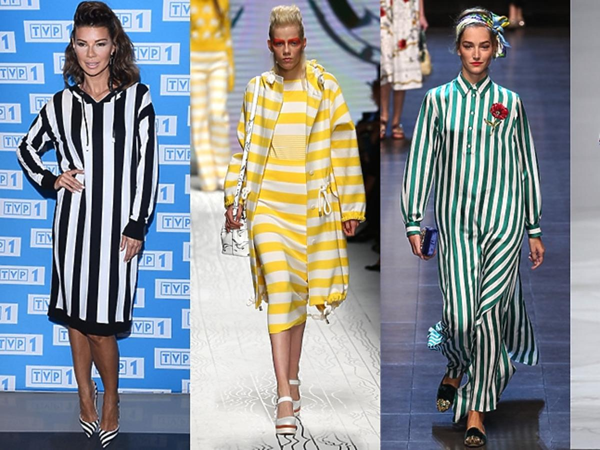 Edyta Górniak, modelki na pokazach marki Max Mara, Dolce & Gabbana, Salvatore Ferragamo