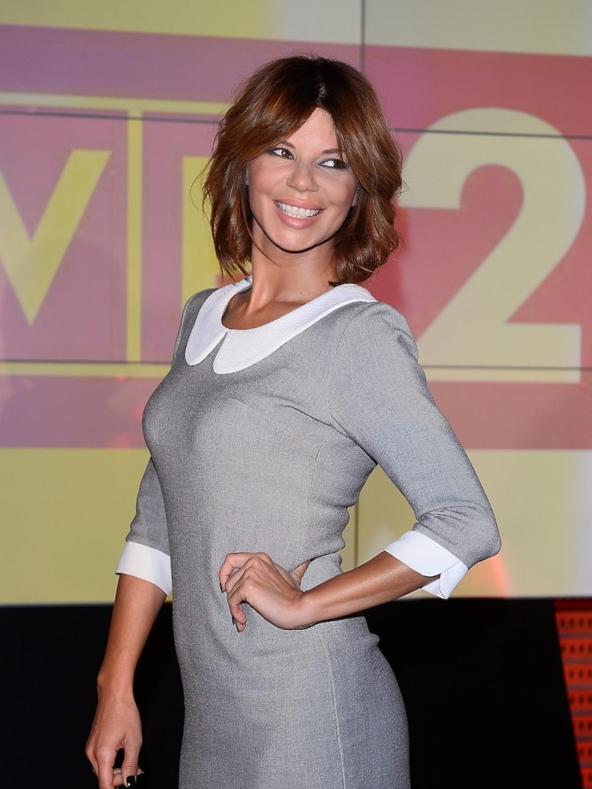 Edyta Górniak na konferencji The Voice of Poland 3