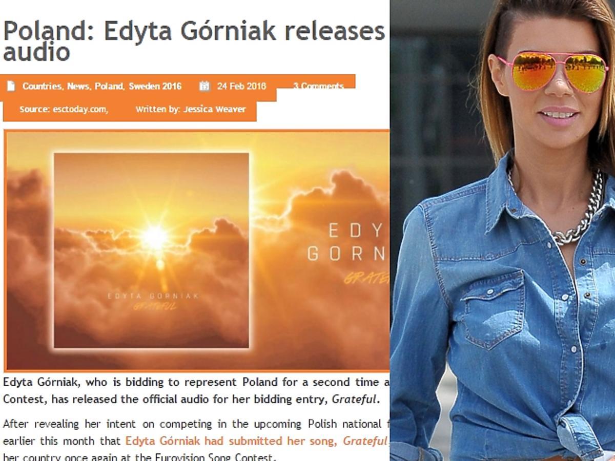 Edyta Górniak - opinie o Grateful