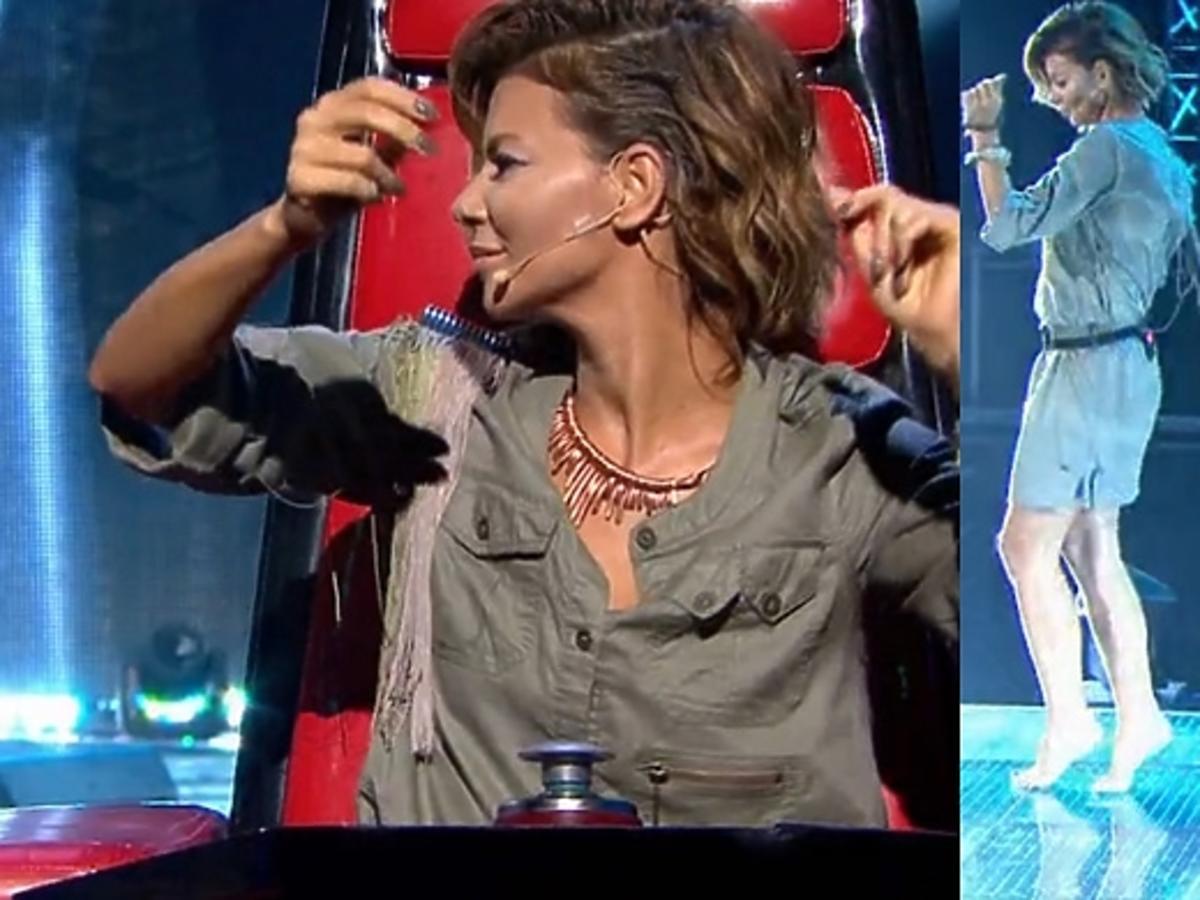 Edyta Górniak tańczy w The Voice of Poland