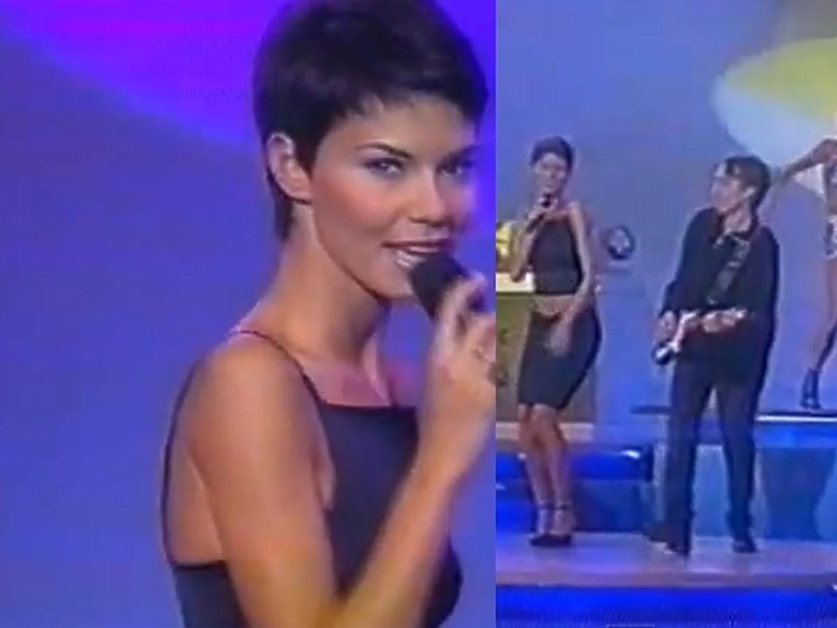 Edyta Górniak w hiszpańskiej telewizji