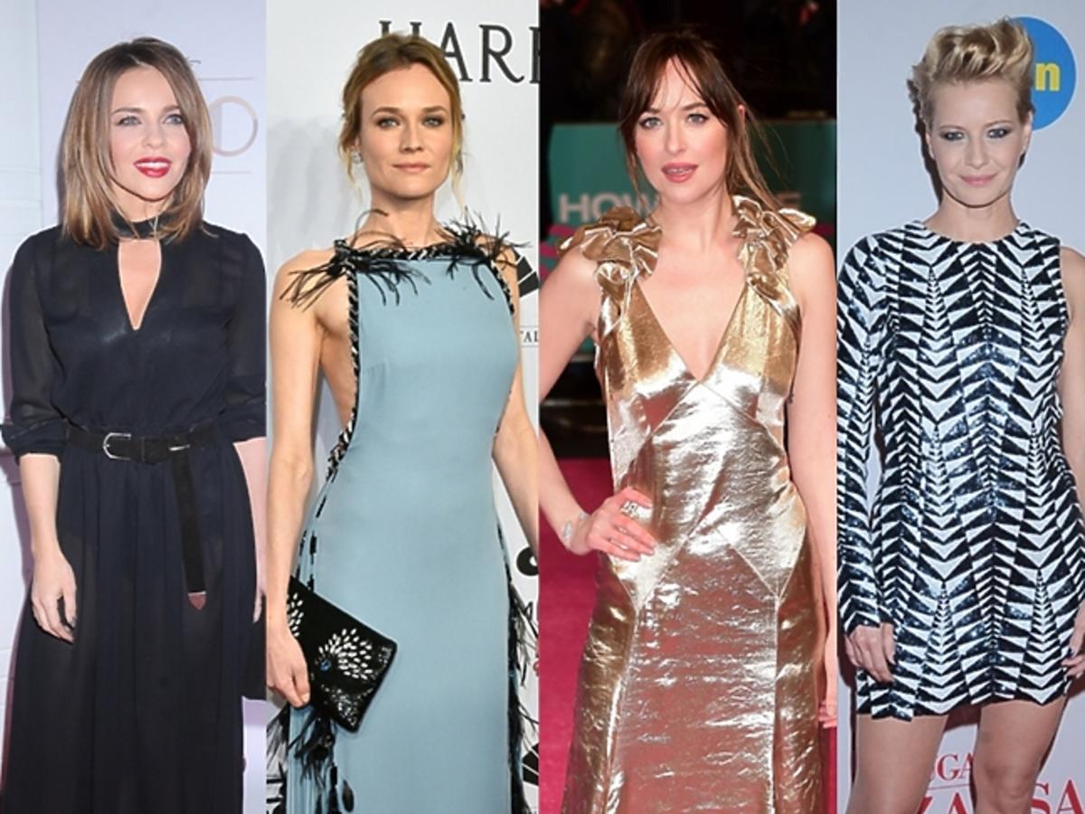 Edyta Herbuś, Diane Kruger, Dakota Johnson, Małgorzata Kożuchowska, Amal Clooney w świetnych stylizacjach