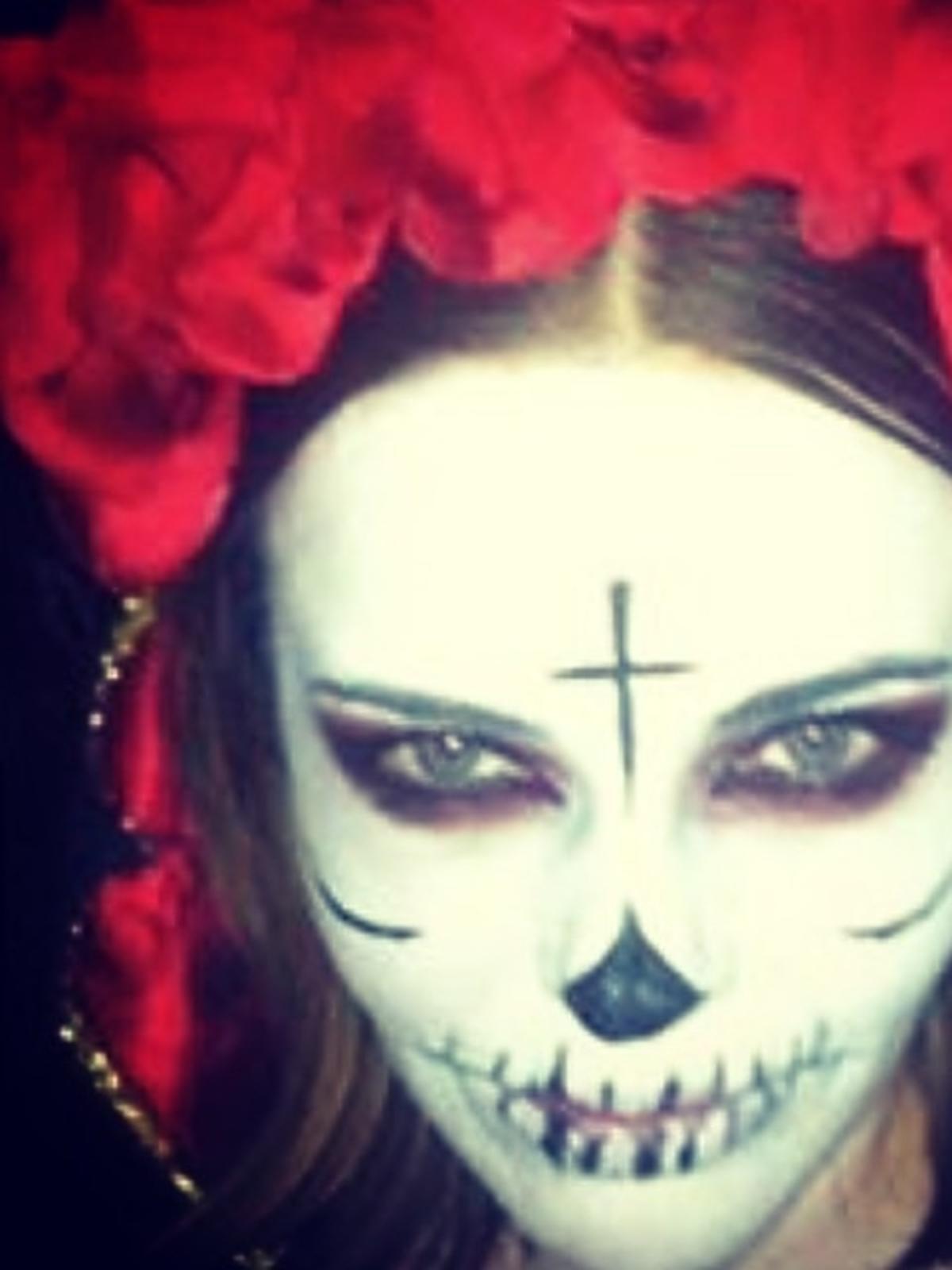 Edyta Herbuś na Halloween 2014