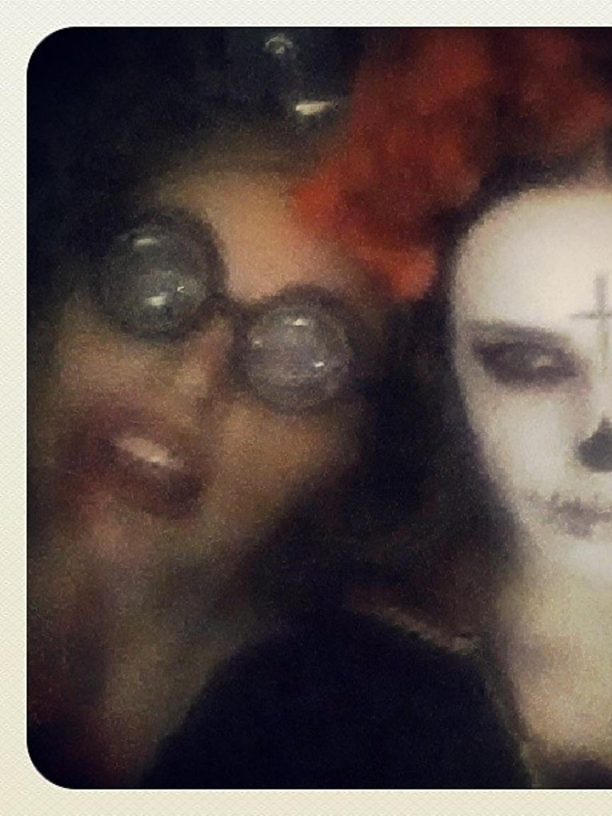 Edyta Herbuś w Halloween 2013